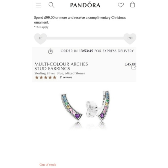 ae8f51455 Genuine pandora rainbow earrings. Pandora. M_5c130bf00cb5aab8fd8c42f1.  M_5c130bfe534ef9cd87196086. M_5c130c09df03074bbf26a213.  M_5c130c1412cd4a2cd6b82cc3